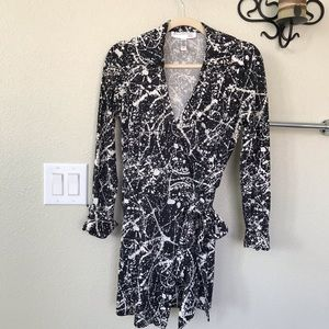 Diane Von Frustenberg Vintage Silk wrap/Dress